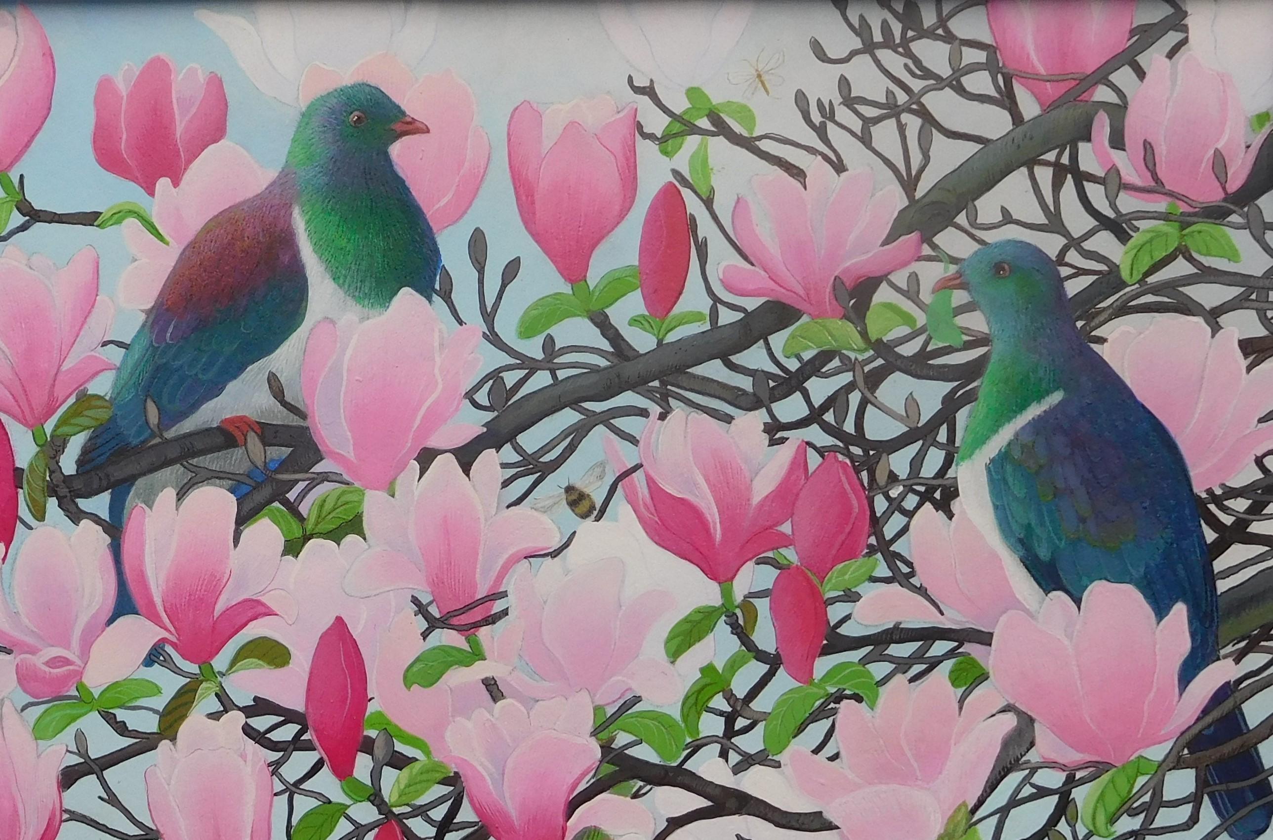 kereru-magnolia