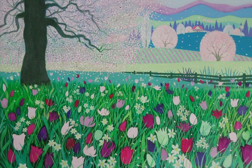 spring-sugar-pink-plum-art